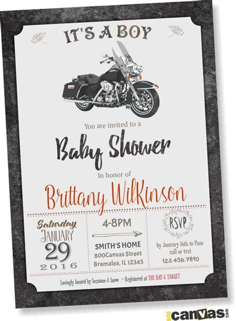 Bike For Baby Shower by 17 Best Ideas About Motorcycle Baby Showers On