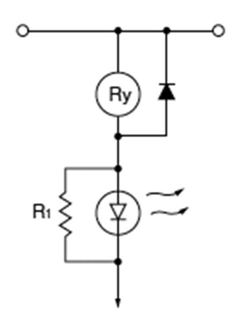 relay parallel resistor applications of relays in electronic circuits automation controls industrial devices panasonic