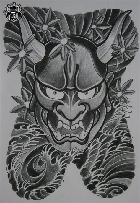 hannya mask and dragon tattoo meaning hannya mask tattoo designs hannya 4 ain t nuthin but a