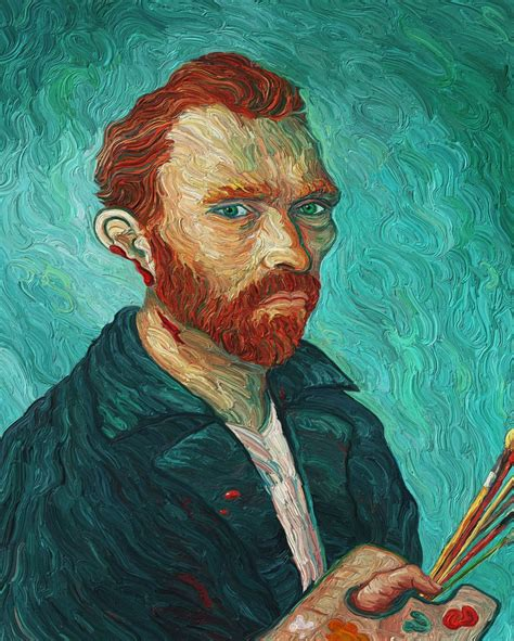 van goghs ear the van gogh self portrait with cut ear background and details art criticism by eric wayne