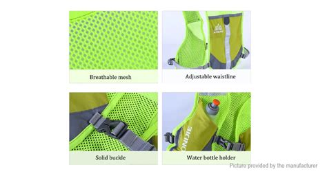 Aonijie Hydration Backpack E884 Trail Marathon Running Blue 11 70 aonijie e884 outdoor sports running reflective vest