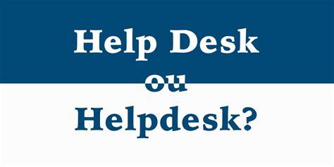 Help Desk Ou Helpdesk Do Acelerato