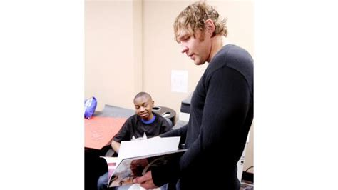 does dean ambrose have kids dean ambrose grants a wish in illinois photos wwe community