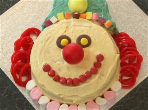 clown cake  steps  pictures wikihow