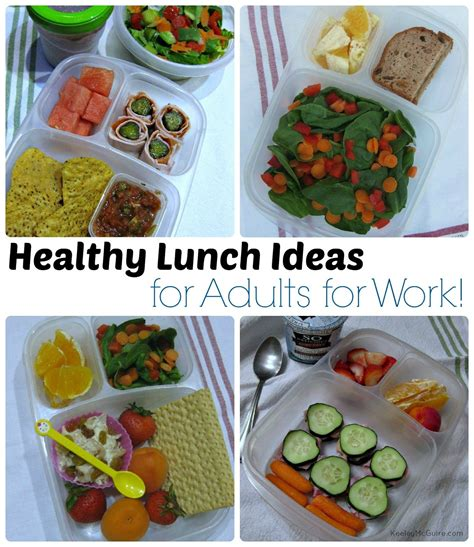 healthy lunch ideas  adults pack  healthy lunch
