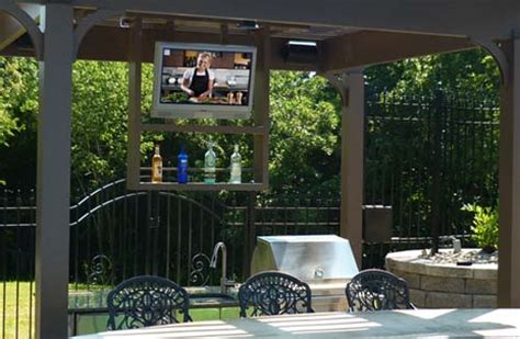 backyard tv all weather televisions by sunbritetv
