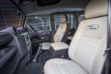 land rover 110 interior image gallery defender 110 interior