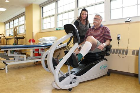 In Rehab by Free Joint Replacement Rehab Class Burke Rehabilitation