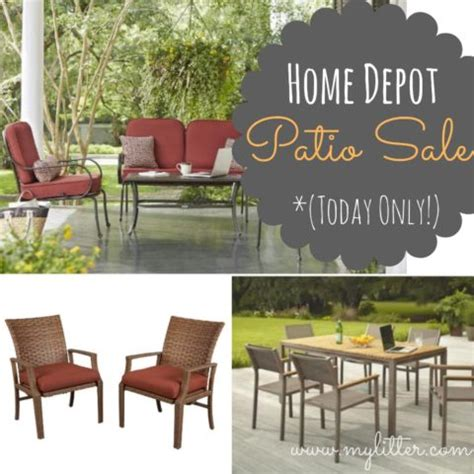 patio furniture sale home depot patio furniture sale 50 sets today only mylitter one deal at a time