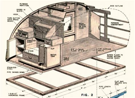 teardrop trailer floor plans 22 best teardrop trailer build images on pinterest