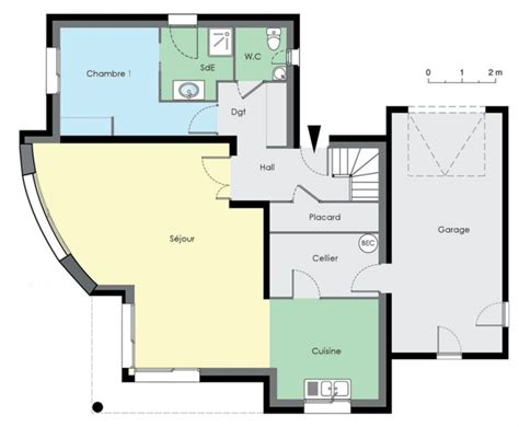 gmh plans beautiful plan de maison en duplex pictures seiunkel us