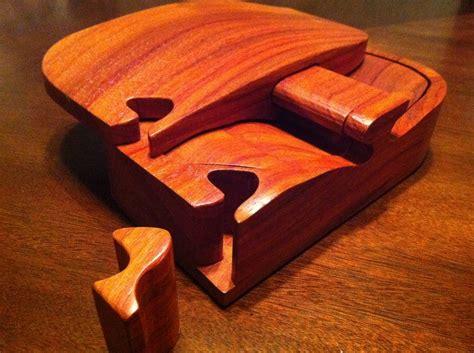 locking puzzle bandsaw box  chuckc  lumberjockscom