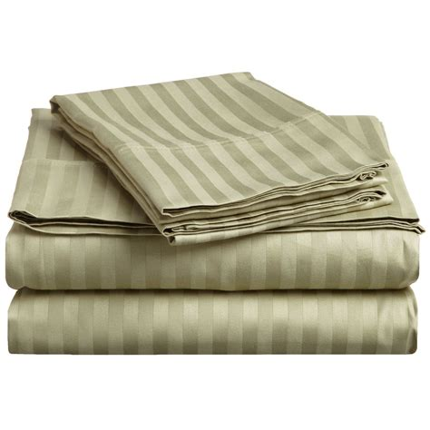 Highest Rated Bed Sheets by Striped 300 Thread Count Duvet Cover Set Premium Long