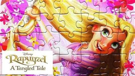 disney princess rapunzel puzzle games ravensburger rompecabezas de play kids learning toys youtube