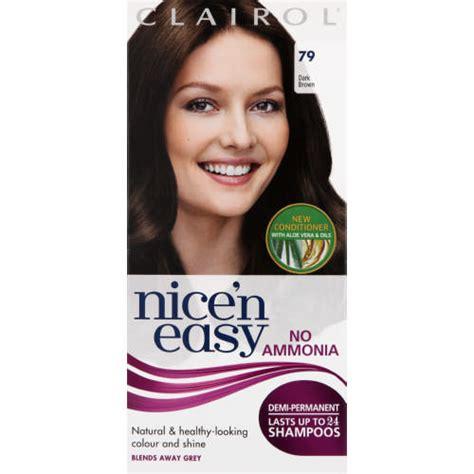 damy hair colour at home clairol nice n easy demi permanent hair colour dark brown