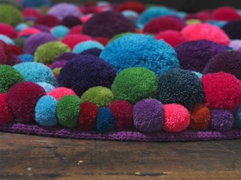 designer teppiche berlin designer teppiche aus bommeln der berliner designerin