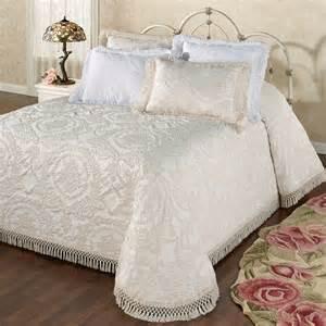 bed spreads antique medallion matelasse oversized bedspread bedding