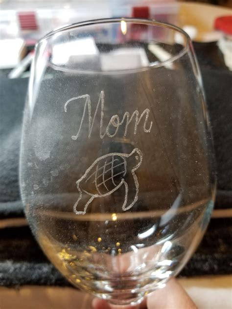 personalized barware glasses personalized wine glasses at a private wedding on hilton
