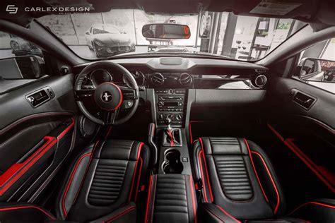 mustang interiors carlex design ford mustang interior revealed