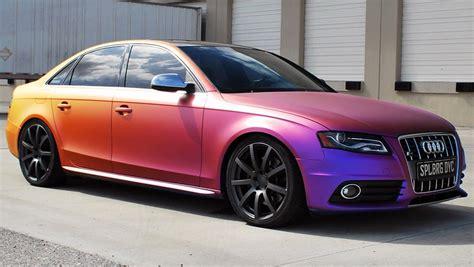 car changing color color changing plasti dip creates chameleon car 95 octane