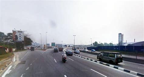 new year road closure malaysia road closure ldp highway for putrajaya shah alam bound