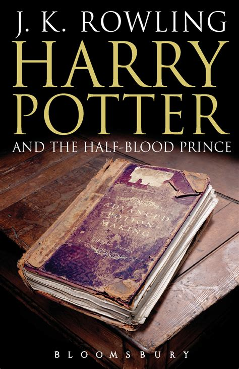 in the blood books harry potter and the half blood prince