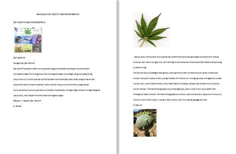 contoh laporan narkotika dan psikotropika contoh makalah zat adiktif dan psikotropika contoh