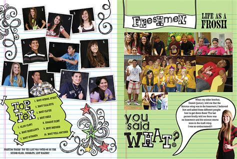 Yearbook Academic Section Ideas by Stuck In The Middle Yearbook Filler Pages Pictavo