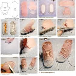 how to make shoes how to make doll shoes step by step diy tutorial