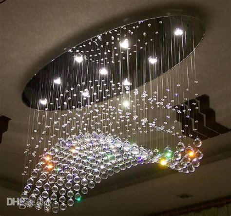 light bulb chandeliers edison bulb chandelier oval curtain wave modern