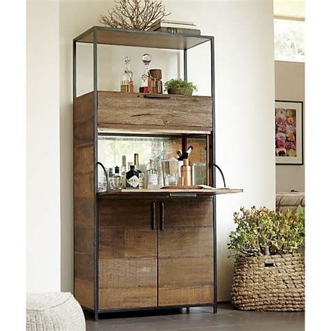 Crate And Barrel Bar Cabinet Clive Bar Cabinet Crate And Barrel Living Rooms Nooks And Storage Crates