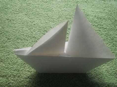 Origami Catamaran - origami tutorial origami sailboat