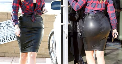 khloe s is out of in leather