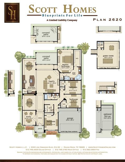 scott homes plan 2185 scott homes plan 2620
