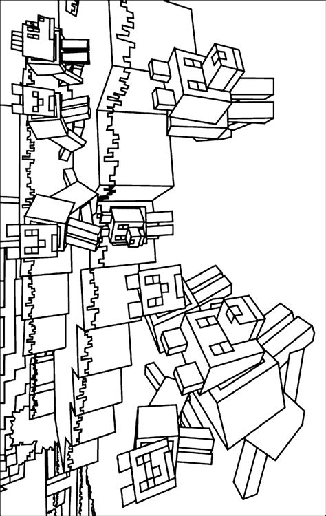 minecraft cheetah coloring pages lego minecraft free coloring pages
