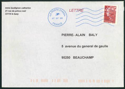 poste lettere oblit 233 ration m 233 canique provenant des machines neopost avec