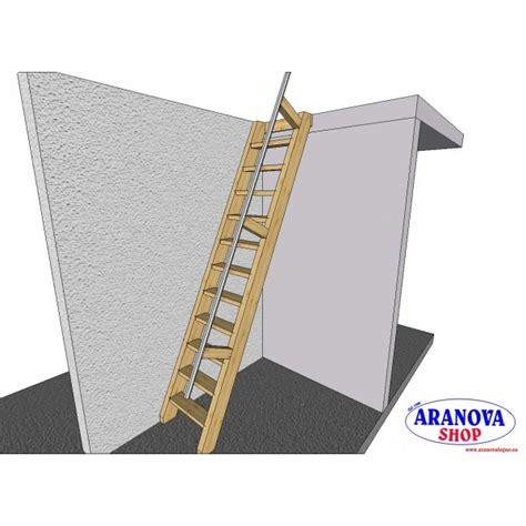 scala da soffitta scala in legno lamellare per accesso a soppalchi e