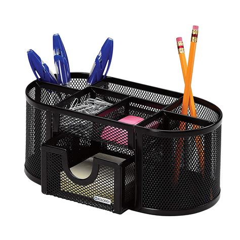 pen organizer for desk home office organization ideas