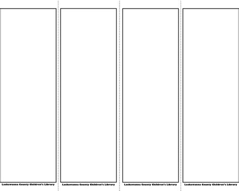 bookmark template download free premium templates