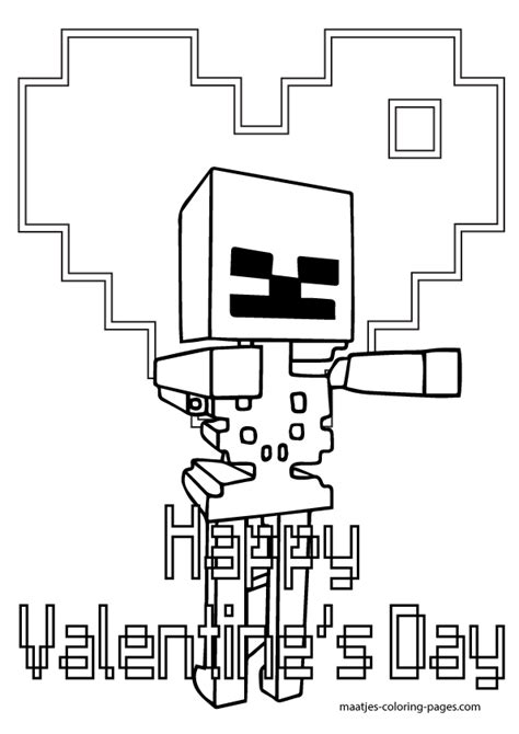 detailed minecraft coloring pages minecraft valentine s day coloring pages minecraft best