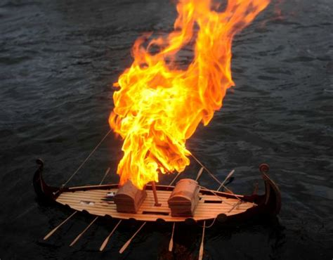 fire boat funeral voices my dad is building his own viking funeral kindland