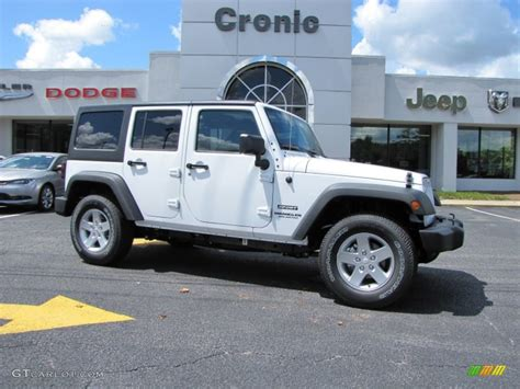 jeep white and black used jeep wrangler unlimited rubicon 4x4 for sale jeep