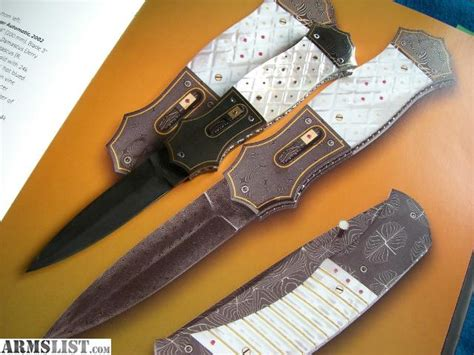 Handmade Folding Knives For Sale - armslist for sale custom jerry corbit auto crown dagger