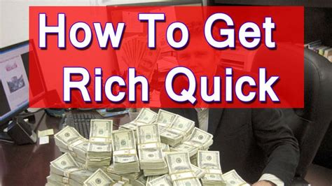 Ways To Win Money Fast - how to get rich fast making quick money