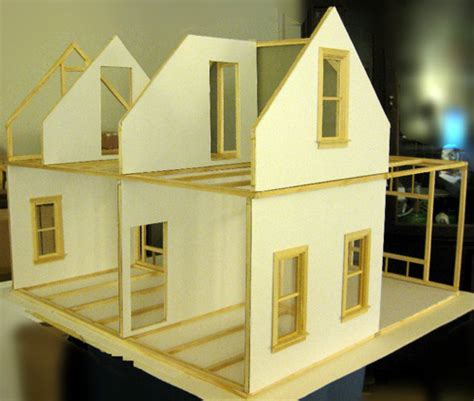 how to build a doll house mike s 1 12 stick built hollow wall dollhouse