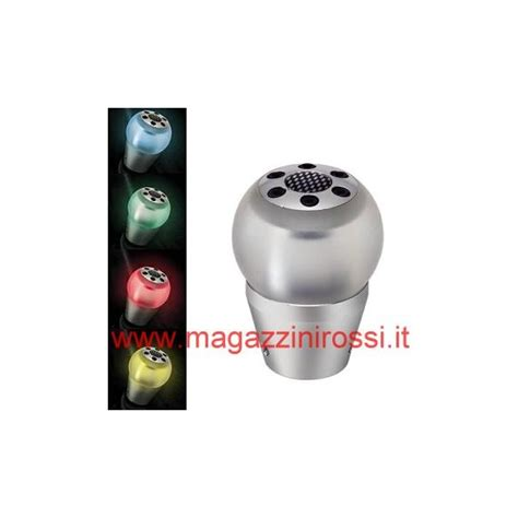 pomello cambio led pomello leva cambio pilot gear lite a led vari colori