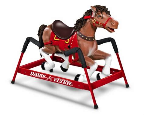 save  radio flyer liberty spring horse toy buy