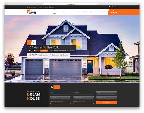 house theme 40 best real estate wordpress themes for agencies