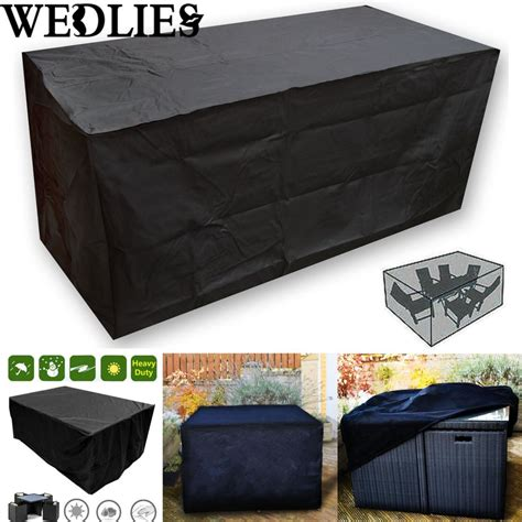 Outdoor Furniture Covers Waterproof Nz Black Waterproof Outdoor Patio Furniture Set Cover Garden