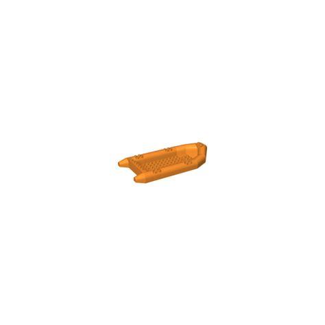 lego boat orange lego orange rubber boat 22 x 10 x 3 62812 brick owl